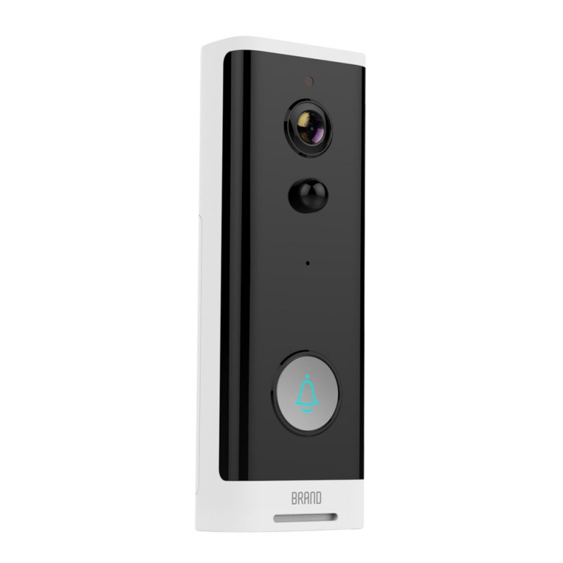 Intelligent WIFI Doorbell 1080P Video Wireless Visual Talkback Mobile Phone Remote Doorbell black