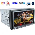 7-inch Car DVD Player (GPS  DVBT  Dual Zone  2 DIN  Touchscreen)
