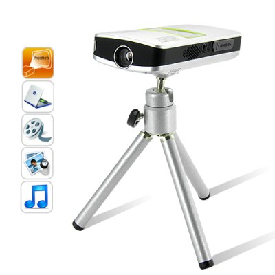 Mini Multimedia Projector with 4 GB Memory