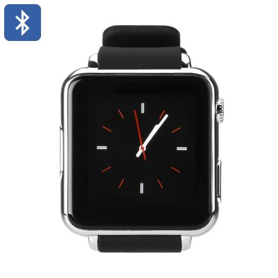 Iradish Y6 Bluetooth Smart Watch (Silver)