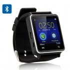Iradish i7 Bluetooth smart watch for Android devices and iPhones  1 54 inch touch screen  pedometer  sleep monitor  anti lost function  SMS   Phonebook Sync