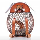 Iron  Piggy/Chick/Dog  Bank Coin  Storage Case Home Decoration Animal Figure Iron Art Fortune Dog Piggy Bank