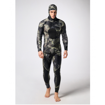 Isafish Freediving Camo Wetsuits for Man