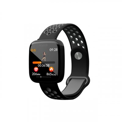 F15 Smart Wristband Black Gray