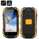 J5 Smallest Waterproof Phone (Yellow)