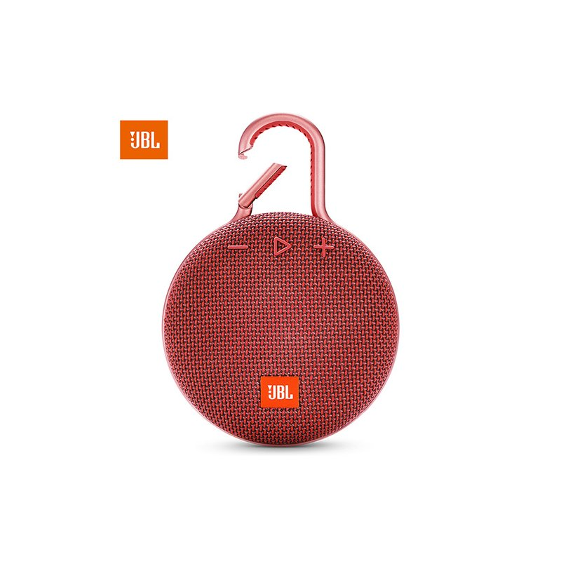 JBL Clip 3 Portable Bluetooth Speaker Mini Waterproof Wireless Outdoor Sport Colorful   red