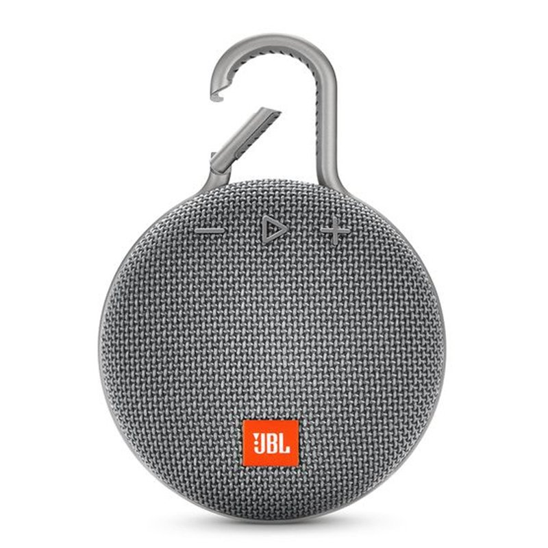 JBL Clip3 Speaker Wireless Portable Bluetooth Streaming IPX7 Waterproof 1000mAh Rechargeable Mini Portable Loudspeaker gray