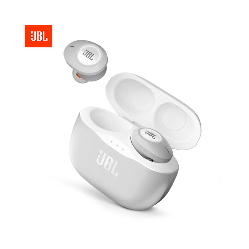 JBL T120 TWS True Wireless Earphones white