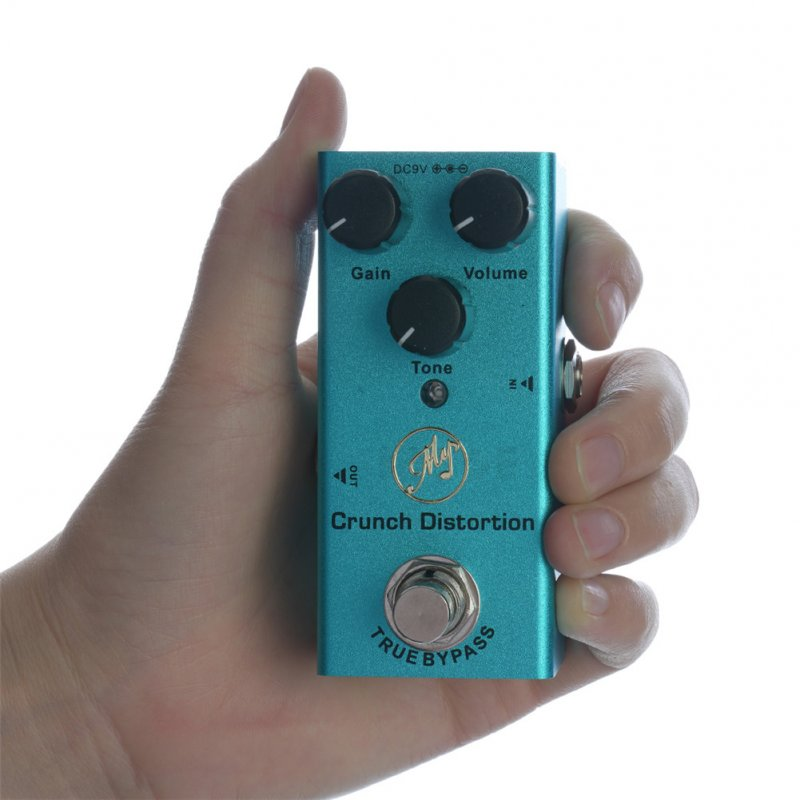 JDF-3 British Distortion Effector for Electric Guitar Effect True Bypass blue