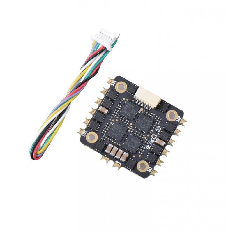 JHEMCU BL32-25A 25A 4in1 2-4s ESC BLHeli 32bits Support Dshot1200/600/300/150 Oneshot125 Multishot PWM For FPV Racing Drone default