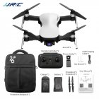 JJRC X12 GPS Drone 5G WiFi FPV Brushless Motor 1080P HD Camera GPS Dual Mode Positioning Foldable RC Drone Quadcopter RTF White