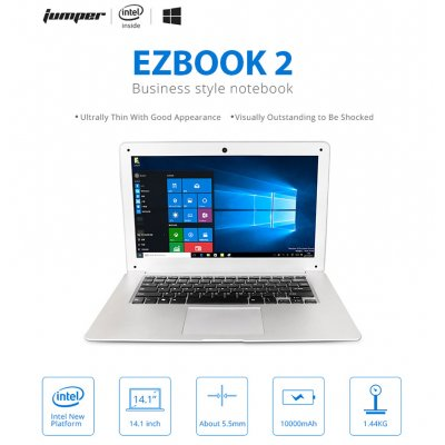 JUMPER EZbook 2 14.1 Inch Quad Core Laptop