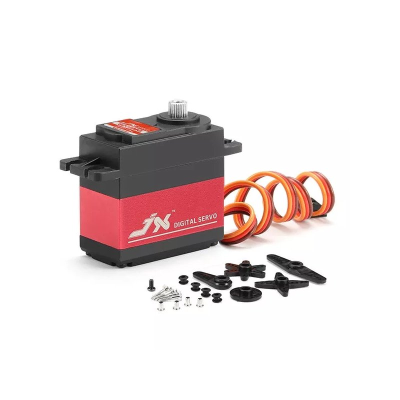 JX Servo PDI-6208MG Servo 120 Degrees High Precision Metal Gear Digital Standard Servo KSX3353 default