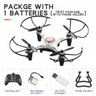 JX815 2 Mini 2 4GHz 4 Channel Drone 360   Rolling Quadcopter white 1 battery