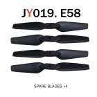 JY019 E58 RC Drone Accessories Foldable Propeller Props Blades