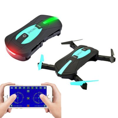 JYO180 Four Axis Foldable Selfie Drone Black