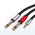 Jack 3.5mm to 6.35mm Adapter Audio Cable for Mixer Amplifier CD Player Speaker 6.5mm 3.5 Splitter Jack Male Audio Cable
