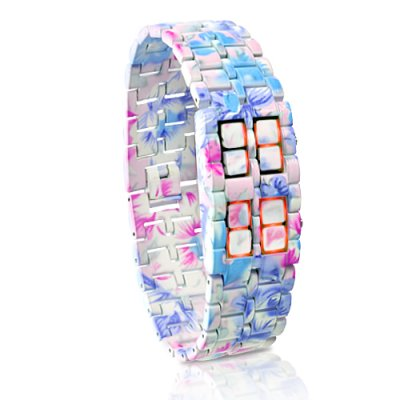Ladies Metal LED Watch - Iron Geisha