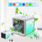 K 3C01 USB Rechargeable Electric Mini Portable Air Cooler Fan Ventilator Conditioner for Office Home