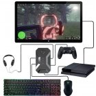K1 Keyboard and Mouse Converter with Headphones for Switch, Xbox, Ps4 Ps3 K1 converter