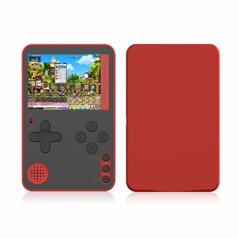 K10 Handheld Video Games Console Built-in 500 Retro Classic Games Gaming Player Mini Pocket Gamepads red