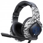 K19 Headset Game Rgb Mobile Computer Eating Chicken Game  Headset For Ps4 Camouflage gray