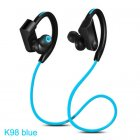 K98 Sports Waterproof Headphones Blue