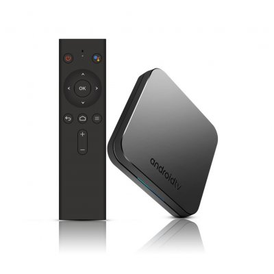 EU Plug 4K Voice Control TV BOX With WiFi