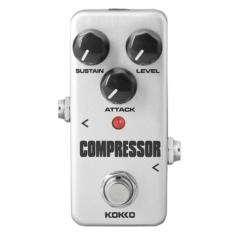 KOKKO FCP2 Mini Compressor Pedal Portable Guitar Effect Pedal Guitar Parts  FCP-2 grey