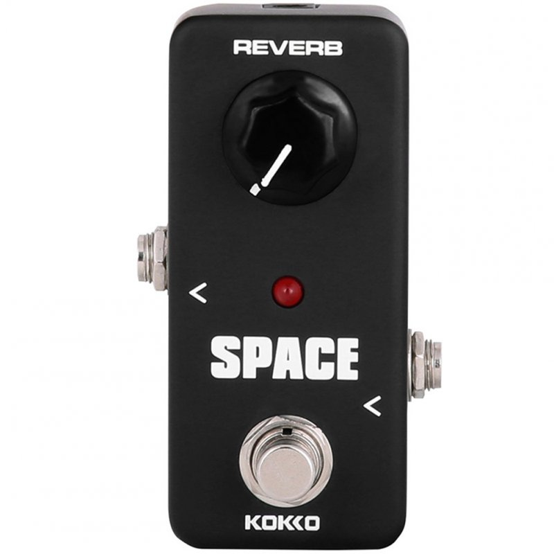 KOKKO FRB-2 Mini Vintage Overdrive Booster SPACE H-Power Tube Reverberation Effect Pedal FRB-2 black