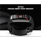Keep track of your daily activity levels with the GT101 sports watch and its pedometer  calorie counter  distant tracker  sedentary reminder  and more