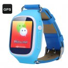 Keep your child our of harm   s way with the GPS Tracker Kids Phone Watch featuring GPS  LBS and Wi Fi positioning modes