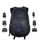 Keep your electronic devices charged on the go with this Solar Battery Charger Backpack   Strong  flexible backpack made from Nylon with high capacity battery