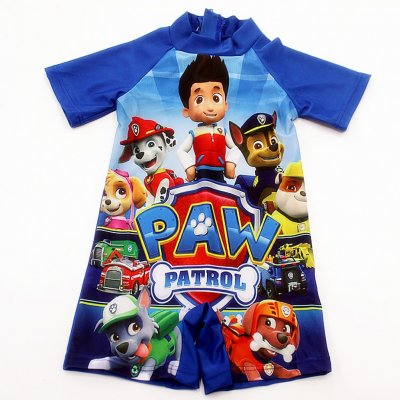 Kids Boys Cartoon Printing Swimsuit