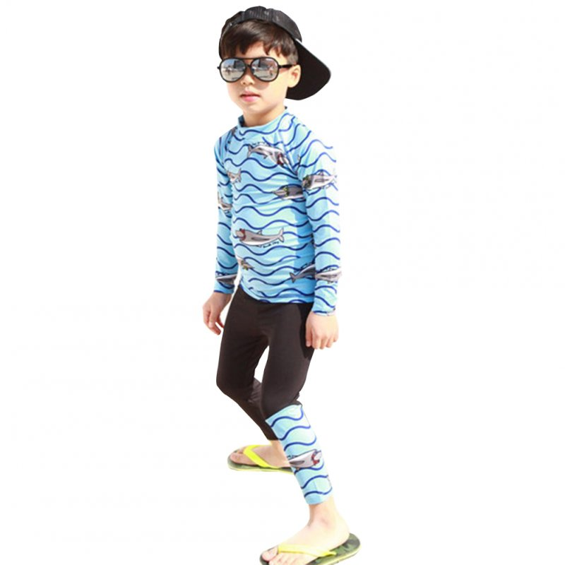 Kids Quick Dry Long Sleeve Tops Trousers