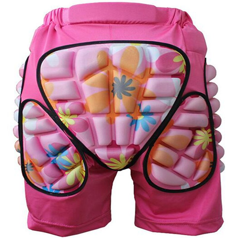 3D Protection Hip EVA Paded Short Pants
