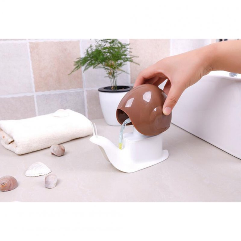 Kids Cartoon Snail Shaped Hand Sanitizer Lotion Liquid Soap Dispensers
