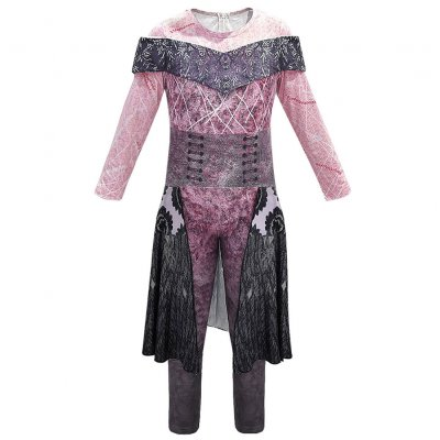 Kids Descendants 3 Audrey Costume Jumpsuit Halloween Cosplay Fancy Dress 856 one-piece skirt_130cm