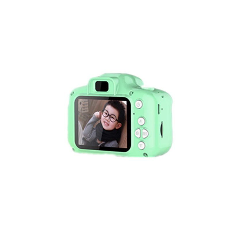 Kids Digital Video Camera Mini Rechargeable Children Camera Shockproof 8MP HD Toddler Cameras Child Camcorder  green