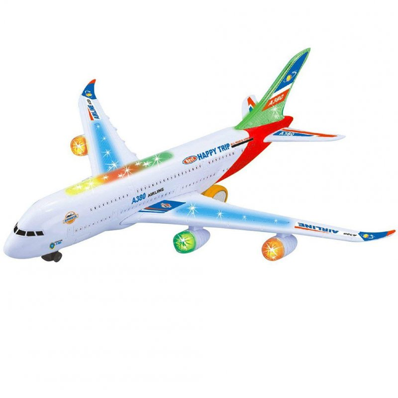 Kids Electric Airplane Toy Aircraft Jet Toy