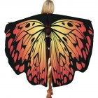 Kids Girls Cloak Lovelt Butterfly Sweet Shawl Party Festival Costume HD-025