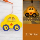 Kids  Handmade  Cartoon Luminous Lantern Diy Portable Puzzle Toy Car_The New