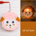 Kids  Handmade  Cartoon Luminous Lantern Diy Portable Puzzle Toy little sheep_The New