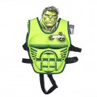 Kids Life Jacket Floating Vest Children Boy Swimsuit Sunscreen Floating Power swimming pool accessories ring Drifting Boating Hulk-M