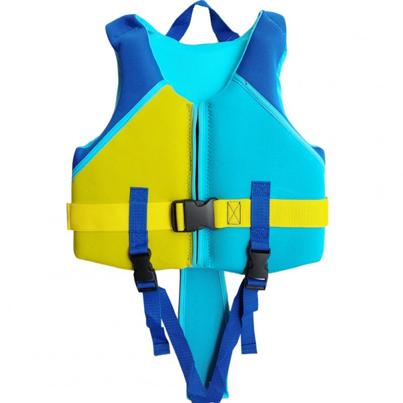 Kids Life Jacket Swimming Coat  Buoyancy Vest  for Water Sports male_S