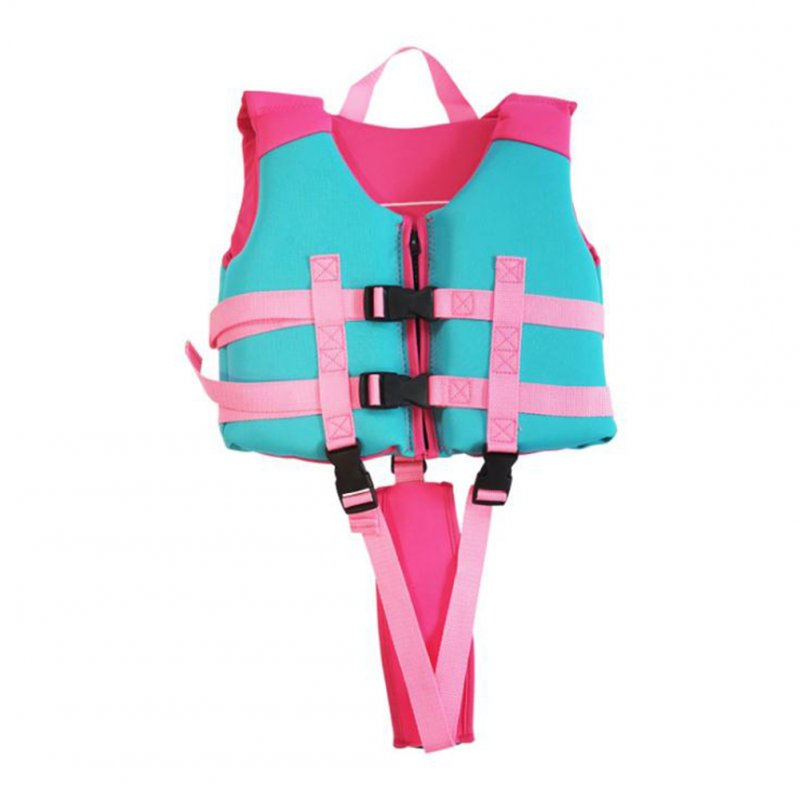 Kids Life Jacket Swimming Coat  Buoyancy Vest  for Water Sports Female_L