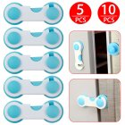 Kids Safety Door Lock Proof Cupboard Fridge Cabinet Prevent Clamp 1Pcs 5Pcs 10Pcs