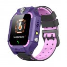 Kids Temperature Detection <span style='color:#F7840C'>Smart</span> Bracelet 1.44 Inches Color Touch Screen 400mah Remote Monitoring Intercom <span style='color:#F7840C'>Watch</span> purple