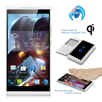 KingZone K1 Turbo Phone (White)