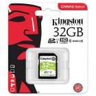 Kingston SDS Canvas Select SD Memory Card Storage Card green 32G